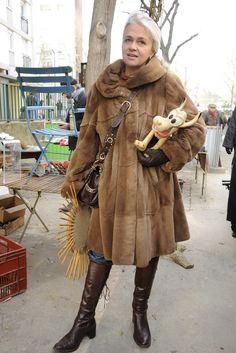 Clignancourt Flea Market, Paris   Photo By Dominique Maitre