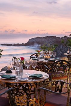 Dining at the outdoor Brisas II restaurant is a nice option come sunset. #Jetsetter Las Brisas Ixtapa (Ixtapa, Mexico)