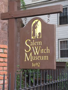 Salem, MA..history abounds here, some not so good to remember