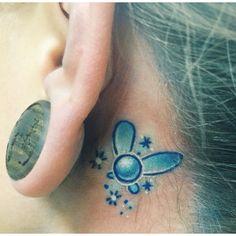 navi tattoo / legend of Zelda tattoo