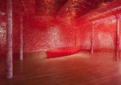 Chiharu Shiota, un fil après l'autre