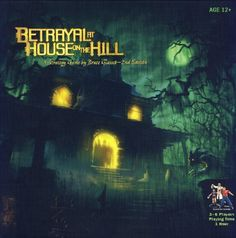 Amazon.com: Betrayal At House On The Hill - 2nd Edition: Unique Euro game, long and complex, but lots of fun!