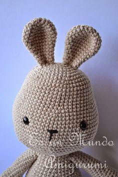 Crochet Rabbit, Crochet Toys, Knit Crochet, Crochet Mandala, Beanie, Diy Crafts, Dolls, Knitting, Hats