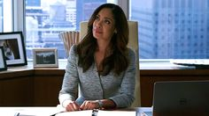 """Jessica Pearson (Gina Torres) in season 6, episode 7 of Suits, """"Shake The Trees"""""""