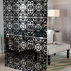 raumtrenner ideen raumteiler vorhang raumteiler regal weisse deko wand raumteiler pinterest. Black Bedroom Furniture Sets. Home Design Ideas