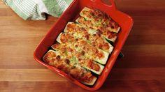 Chicken Parm Stuffed Zucchini