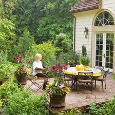 Make It Accessible-Consider a patio off the bedroom or the kitchen if you like your coffee outside.
