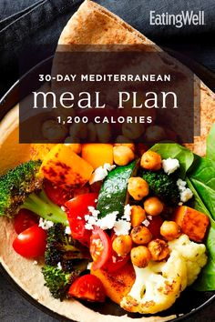 In this meal plan, we incorporate the principles of the Mediterranean diet with plenty of meal-prep recipes and no-cook breakfast options to make eating healthy and losing weight realistic for busy schedules. At calories, this plan should help Ketogenic Diet Meal Plan, Diet Meal Plans, Meal Prep, Dash Diet Meal Plan, Keto Meal, Food Prep, Easy Mediterranean Diet Recipes, Mediterranean Dishes, Mediterranean Diet Shopping List