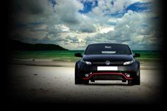modified vw | Volkswagen Polo modified sports look by Dilip Chabbria DC Design ...