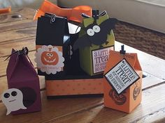 SU Milk carton Halloween treat box and carrier.