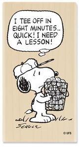 Snoopy - Tee Off Golf
