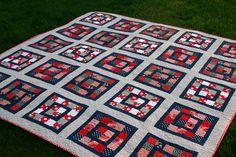 Elizabeth Hartman's Rec Center Picnic Quilt