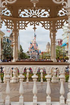 DisneyLand France. I like this shot need to try and capture it myself. :)