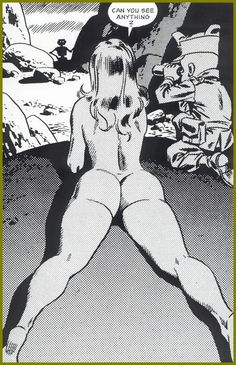 book comic Erotic art
