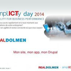 SEPTEMBER 24, 2014 | SLIDE 1 | Mon site, mon app, mon Drupal   SEPTEMBER 24, 2014 | SLIDE 2 | MON SITE, MON APP, MON DRUPAL  Présentation de Drupal  P. http://slidehot.com/resources/simplicity-day-2014-workshop-drupal.47092/