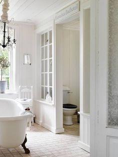 Vintage chic: Inspirasjon: drømmebad/ inspiration: bathroom