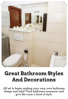 Easy Bathroom Style And Design Ideas: Are You Re Decorating Your Bathroom?  To Transform