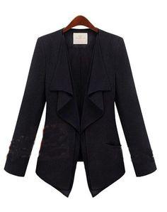 Fashion New Gossip Girl Solid Black...