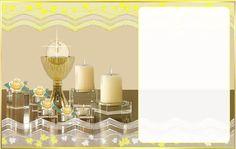 Ideas y material gratis para fiestas y celebraciones Oh My Fiesta!: Invitaciones Primera Comunión 2.