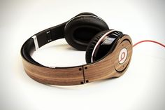Lazerwood Headphone Skin for Beats By Dr.Dre