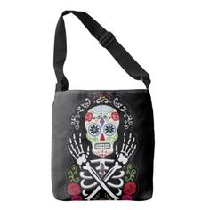 Sugar Skull Bags - Halloween happyhalloween festival party holiday