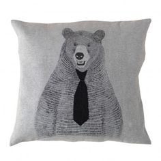 Soft Gallery Bear Pillow, Smallable