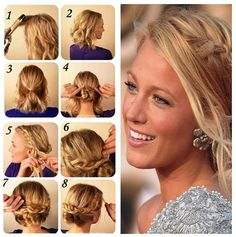 Romantic hairstyle tips!!