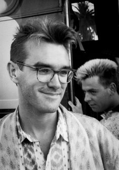 Morrissey and Andy Rourke: The Smiths.