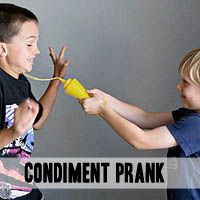 My girls will love this prank for April Fool's Day!