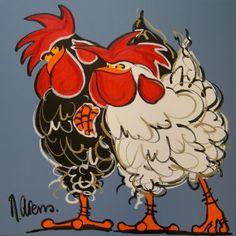 kippen tekening - Google zoeken