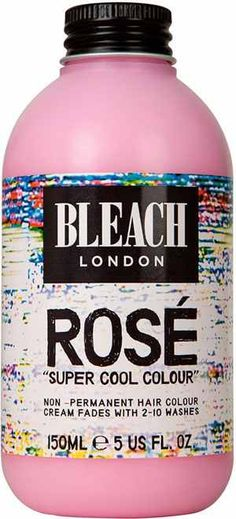 Bleach London Rose, mix it with peach for that rose gold hair color. http://beautyeditor.ca/2013/12/17/sienna-miller-pink-hair/