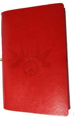 """Peace & Harmony Journal - Red 5"""" x 7"""""""