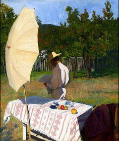 Károly Ferenczy October 1903