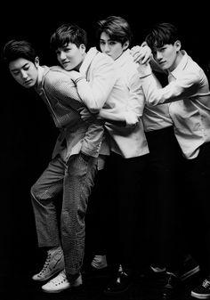 Chanyeol, Kai, Sehun, Chen