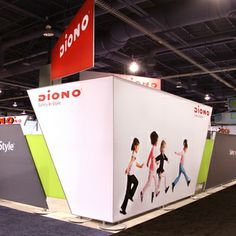 Diono Trade Show Exhibit and Design