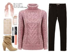 """""""Pink"""" by lynnesummersxx ❤ liked on Polyvore featuring Zara, Sole Society, Sonix, Valentino, NARS Cosmetics, Balenciaga, women's clothing, women's fashion, women and female"""