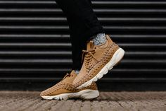 huge discount 28a55 f91a1 nike air footscape woven flax