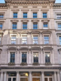 The limestone exterior is of classic New York architecture and style. Jessica Eve Morgan Your #NYC #RealEstateExpert JMorgan@Halstead.com