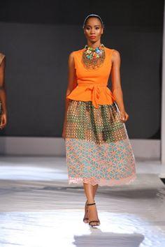 Christie Brown ~ Lagos Fashion and Design Week 2013