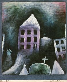 Paul Klee - Destroyed Place, 1920