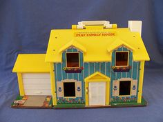 fisher price playhouse #fisher_price #little_people #vintage