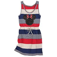 Striped Nautical Minnie Mouse Dress for Women from the Disney Store. *I know someone who would probably enjoy wearing this around the pool.