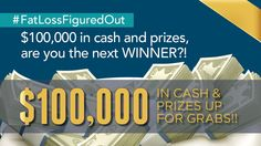 $100,000 in cash and prizes, are you the next WINNER?!