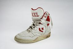 Axl Rose Converse...Seriously, I need to get these.  @Danny Trinh Trinh Conway @Ricky K. K. Kaluza