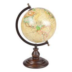 Globus aus Holz und Stahl, Wohnzimmer-Impressionen ZARA HOME FW14 Campaign, Bilder: © ZARA HOME