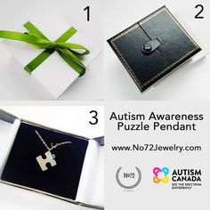 This #holiday or New Years #gift gives 2x the amount of love. Your #Autism Awareness Puzzle Pendant immediately donates 50% of the sale to Autism Canada to benefit individuals and families living with autism.  Visithttp://ift.tt/1Nxo6bw to make your impact.