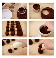 Chocolate fudge Mini cake Tutorial