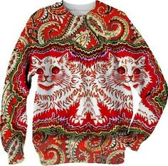 Kitty symmetry created by sarahisaturtle | Print All Over Me