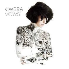 album cover art: kimbra - vows [2012]