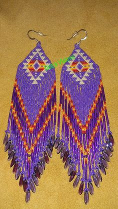 Roxanne Bird design 3 earring in Purple Shoulder by DebsVisions, $32.00